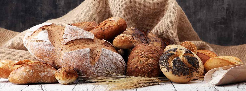 Esempi di pane ottenuto da farine diverse